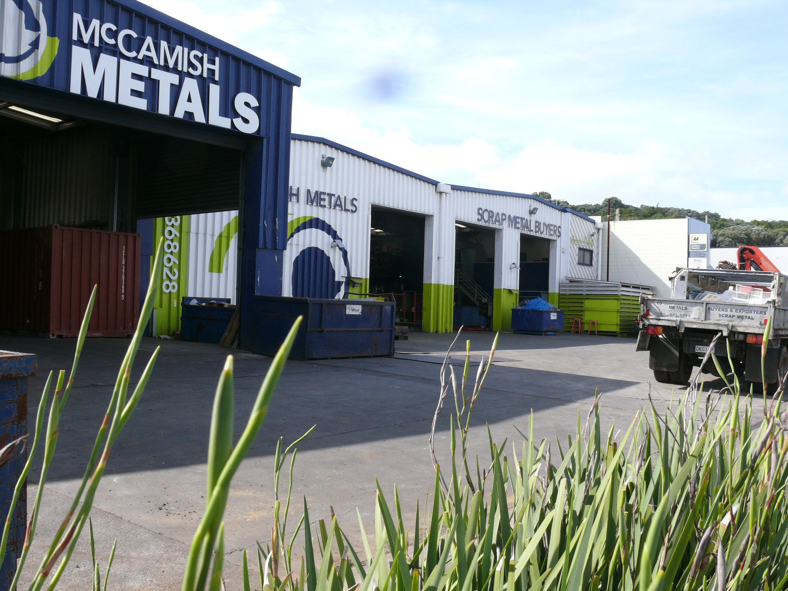 Scrap metal recycler in Auckland