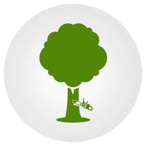 tree cutting icon
