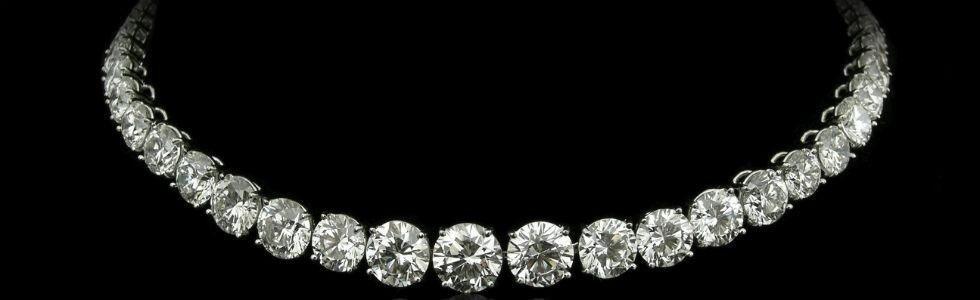 collana diamanti monza