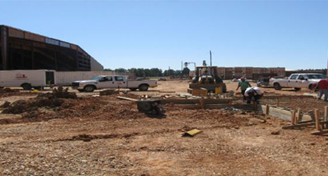 Project area at Texarkana