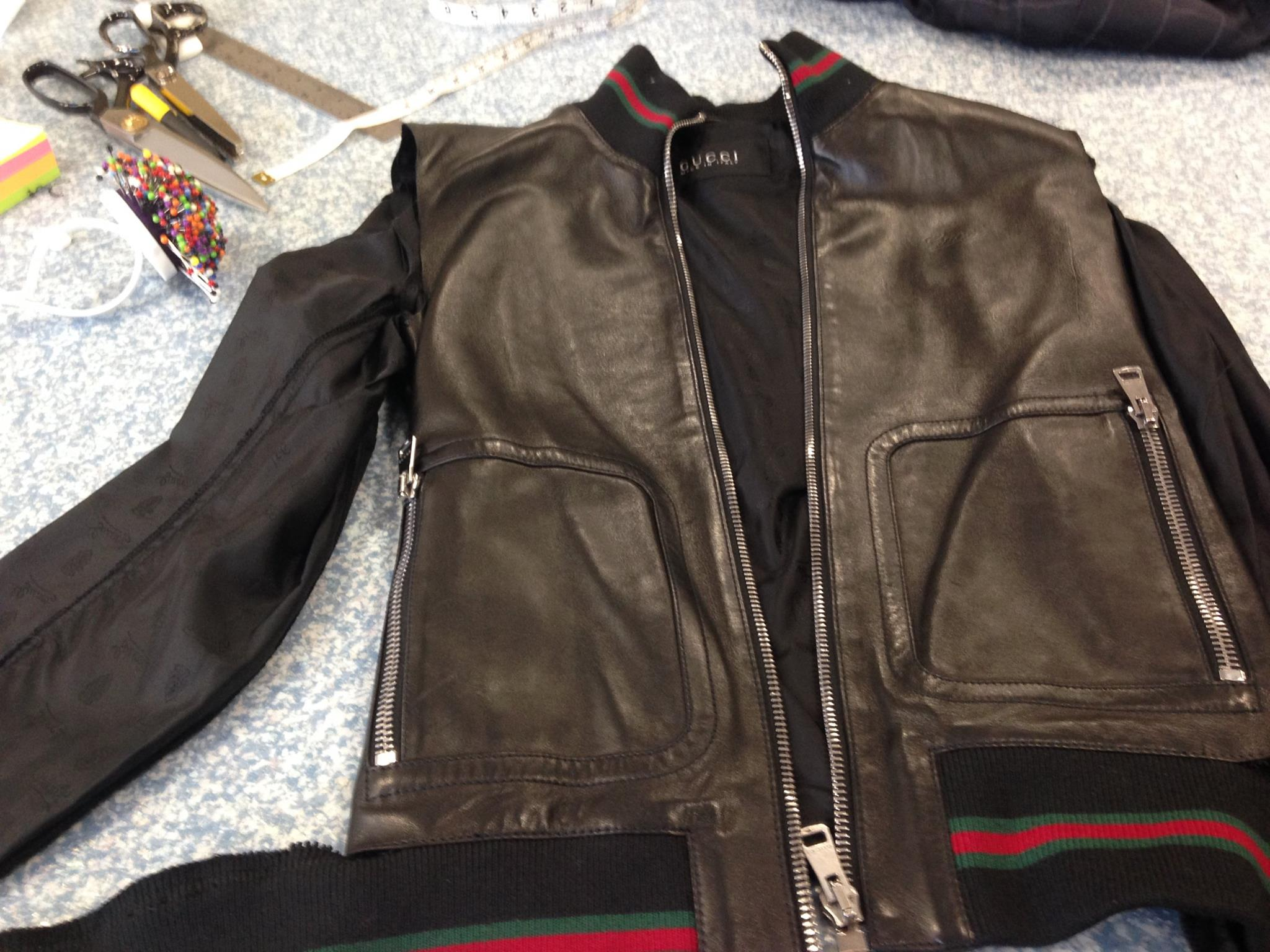 Gucci leather alteration