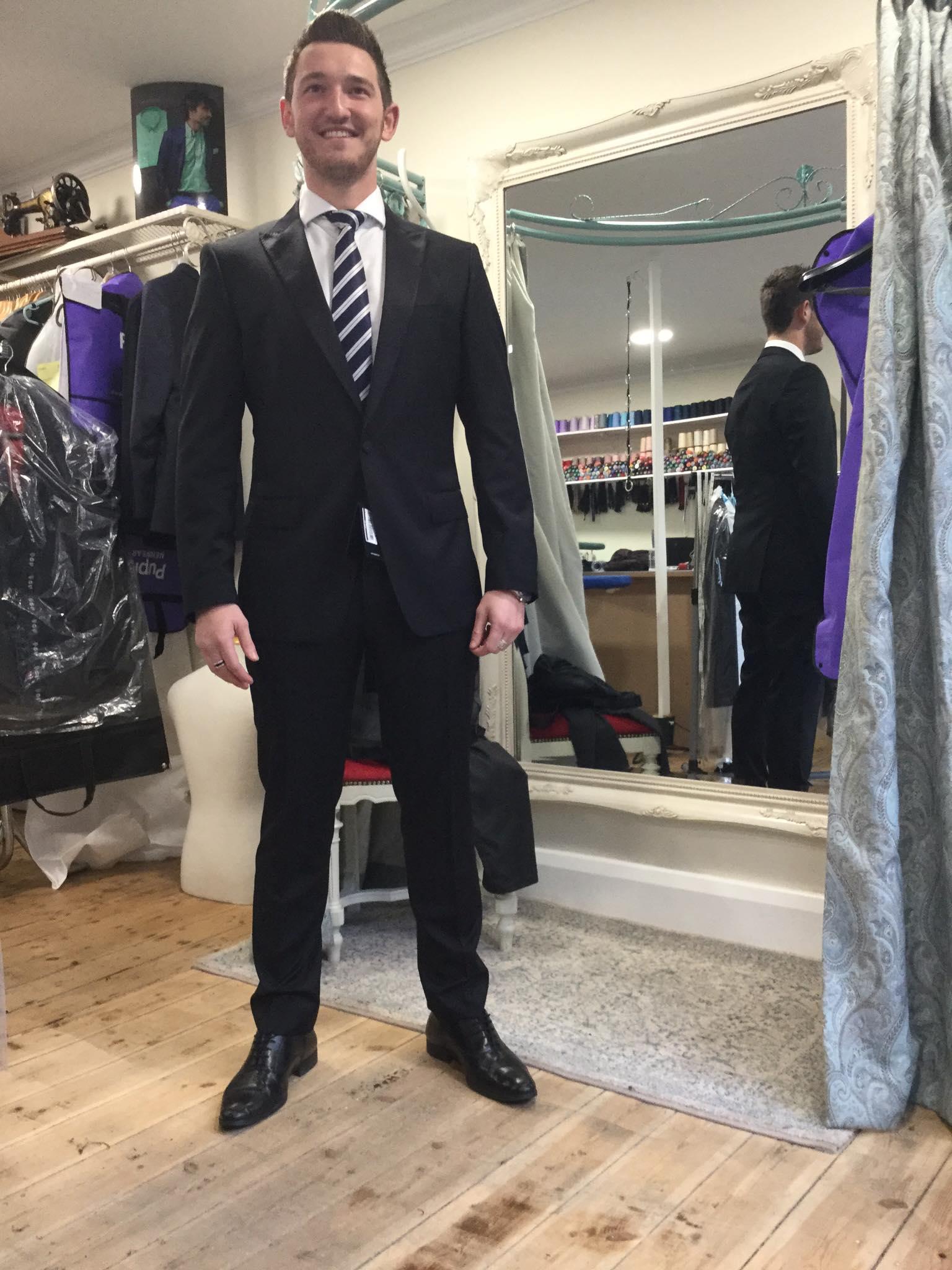 HBoss suit alteration
