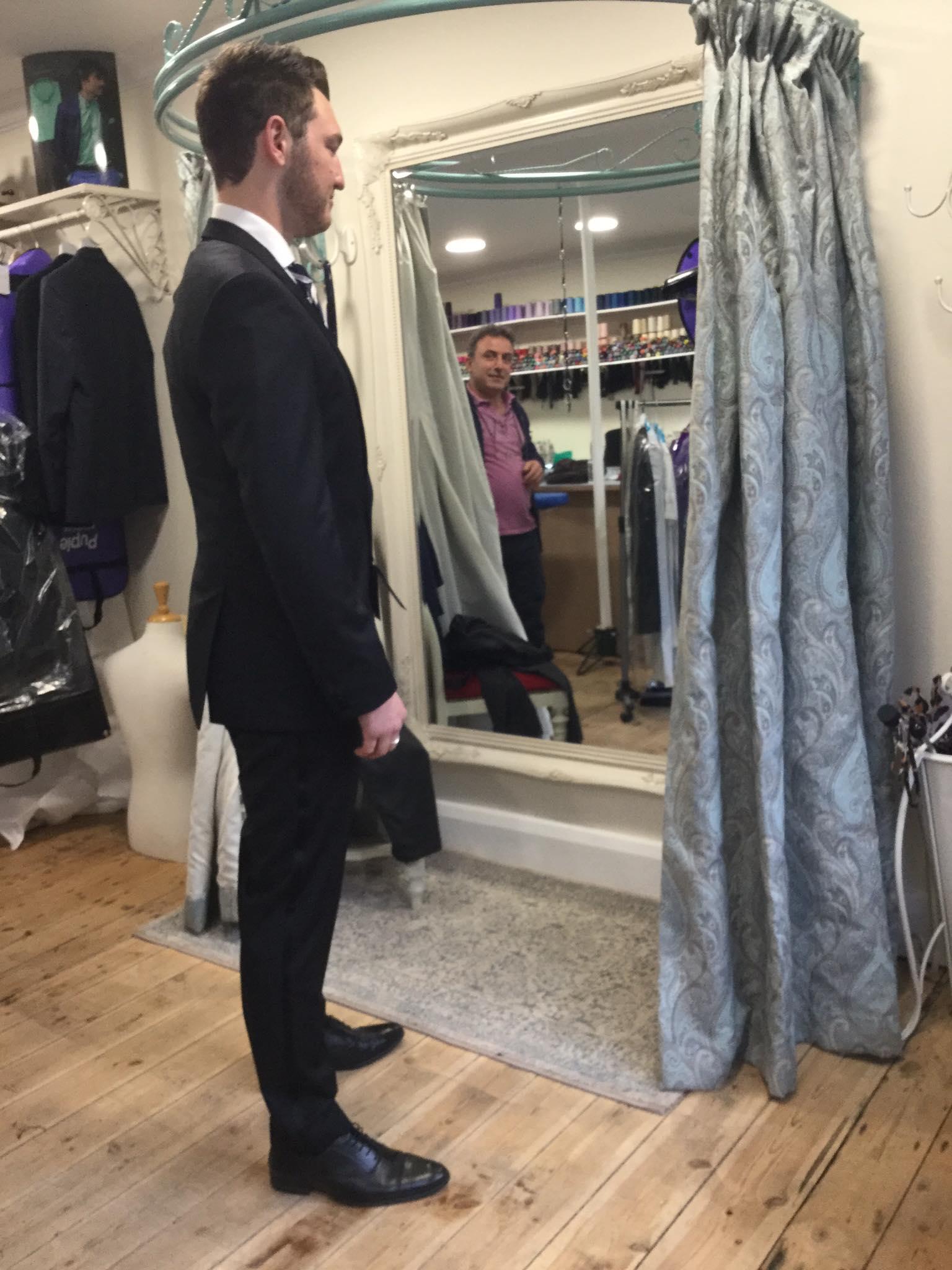 HB suit alteration