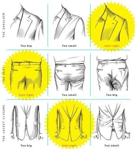 how suit should fit