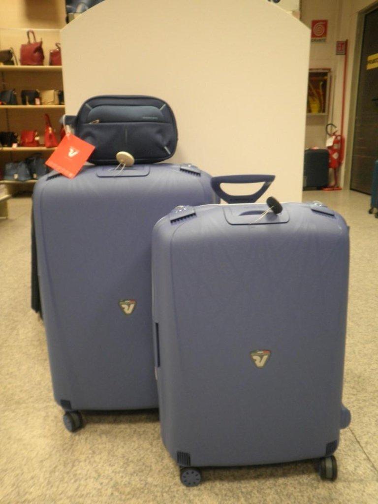 set valige viaggio