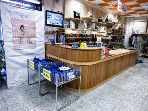 negozio di valigie