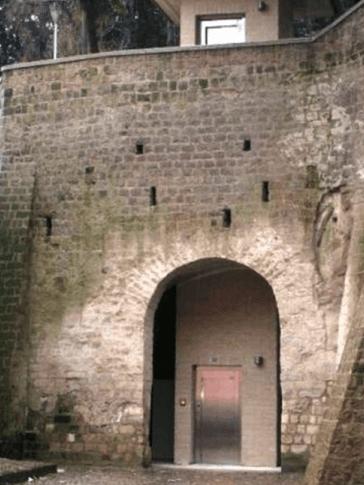 Ascensore sito storico