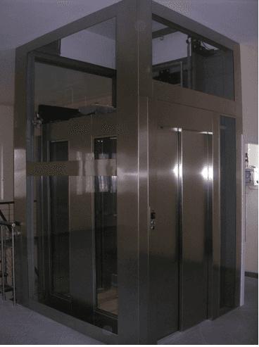 Cabina acciaio inox