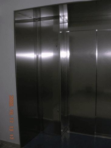 Porte scorrevoli cabina