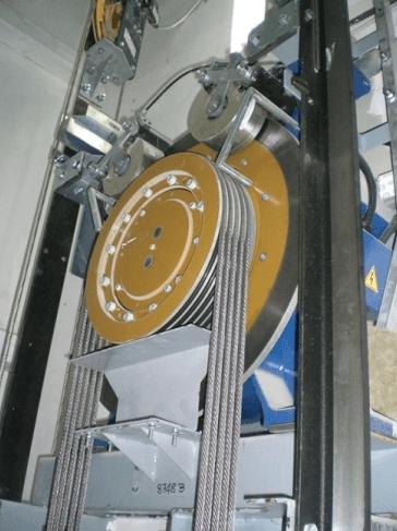 Meccanismi e motori ascensori