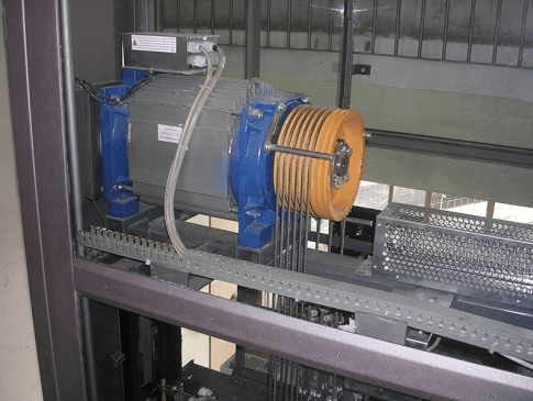 Riparazione meccanica ascensori