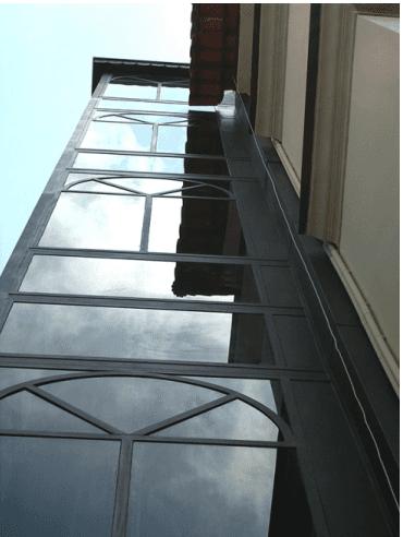ascensore in vetro