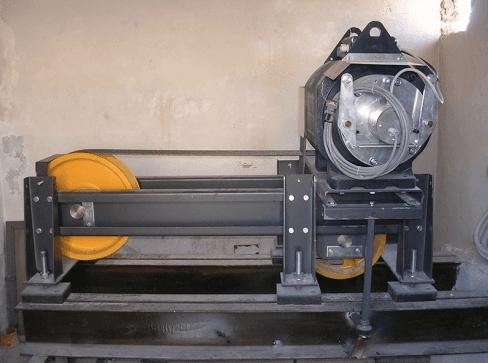 Manutenzione motore ascensori