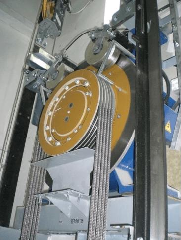 Impianti MRL Gearless