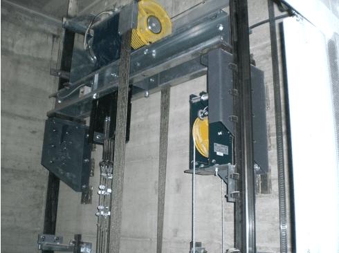 Meccanismo sollevamento ascensore