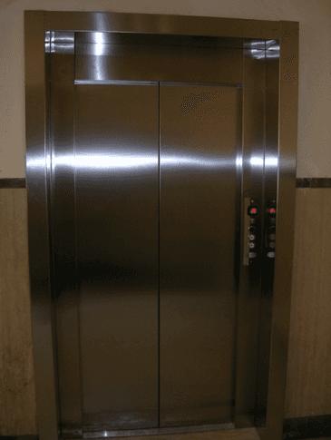 Riparazione ascensori metallici