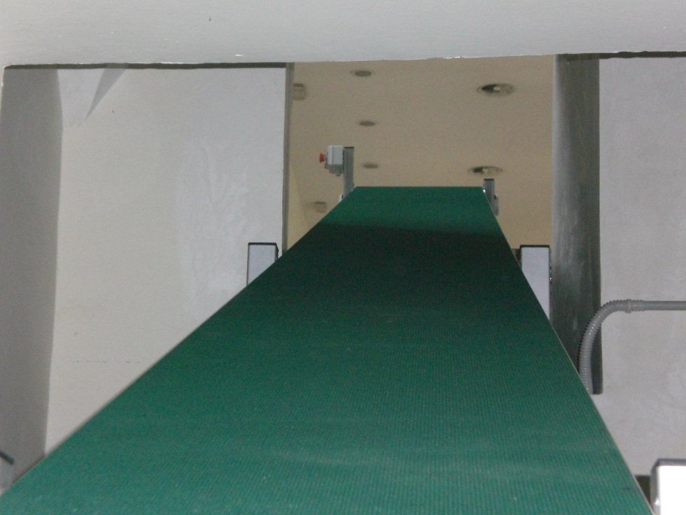 Nastri traportatori a tappeto
