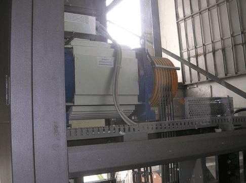 controllo freni ascensore