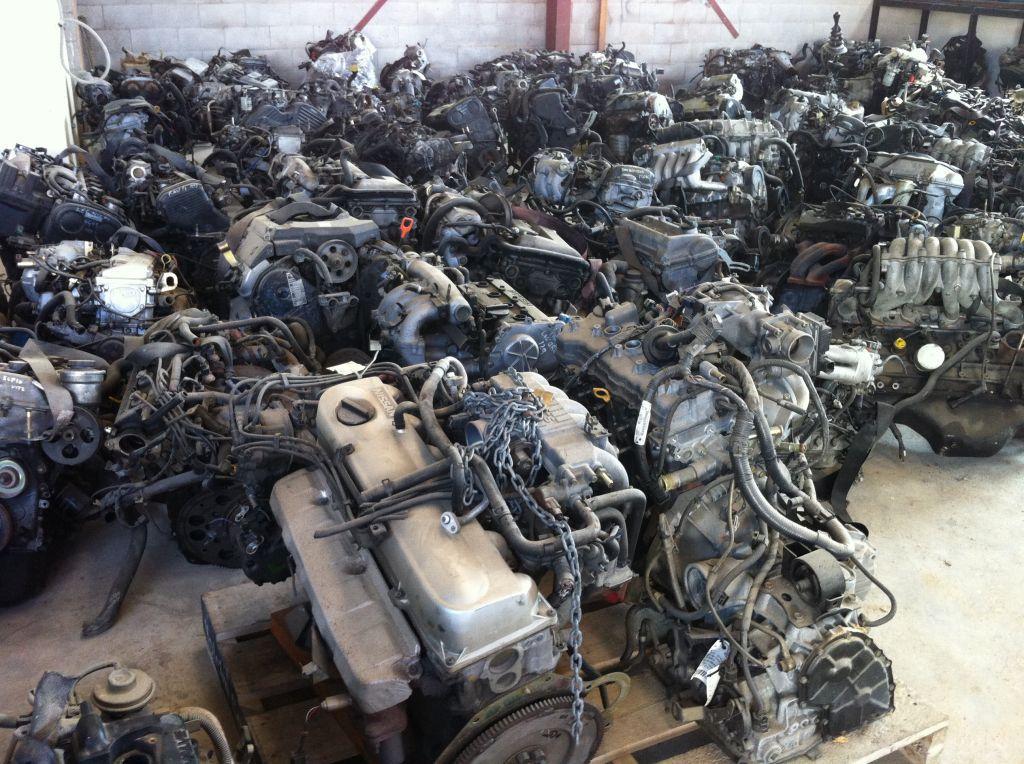 car engine storage