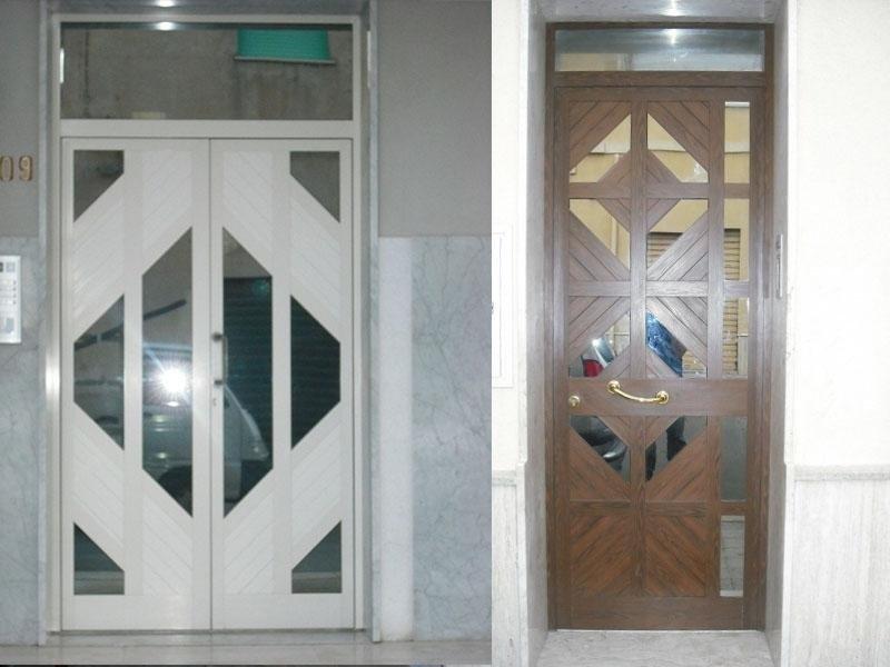 porte specchiate
