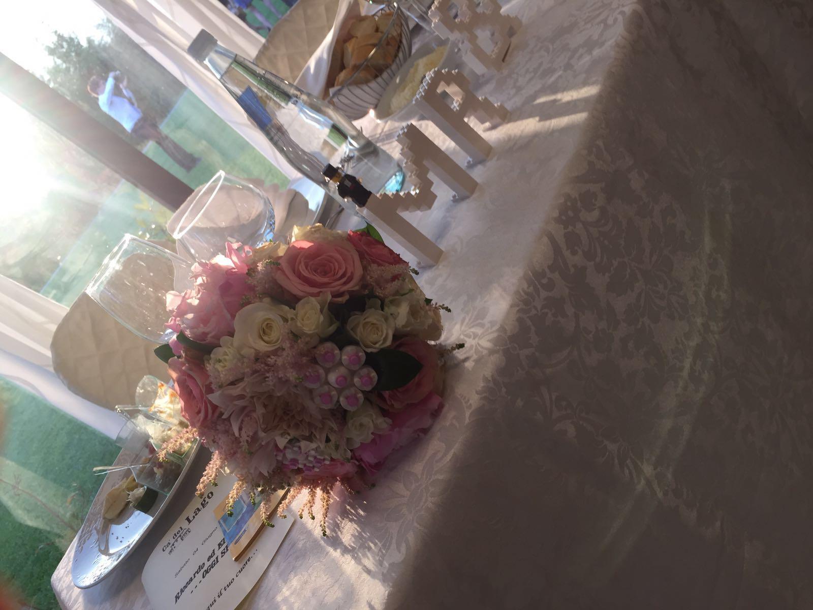 bouquet sposa con lego