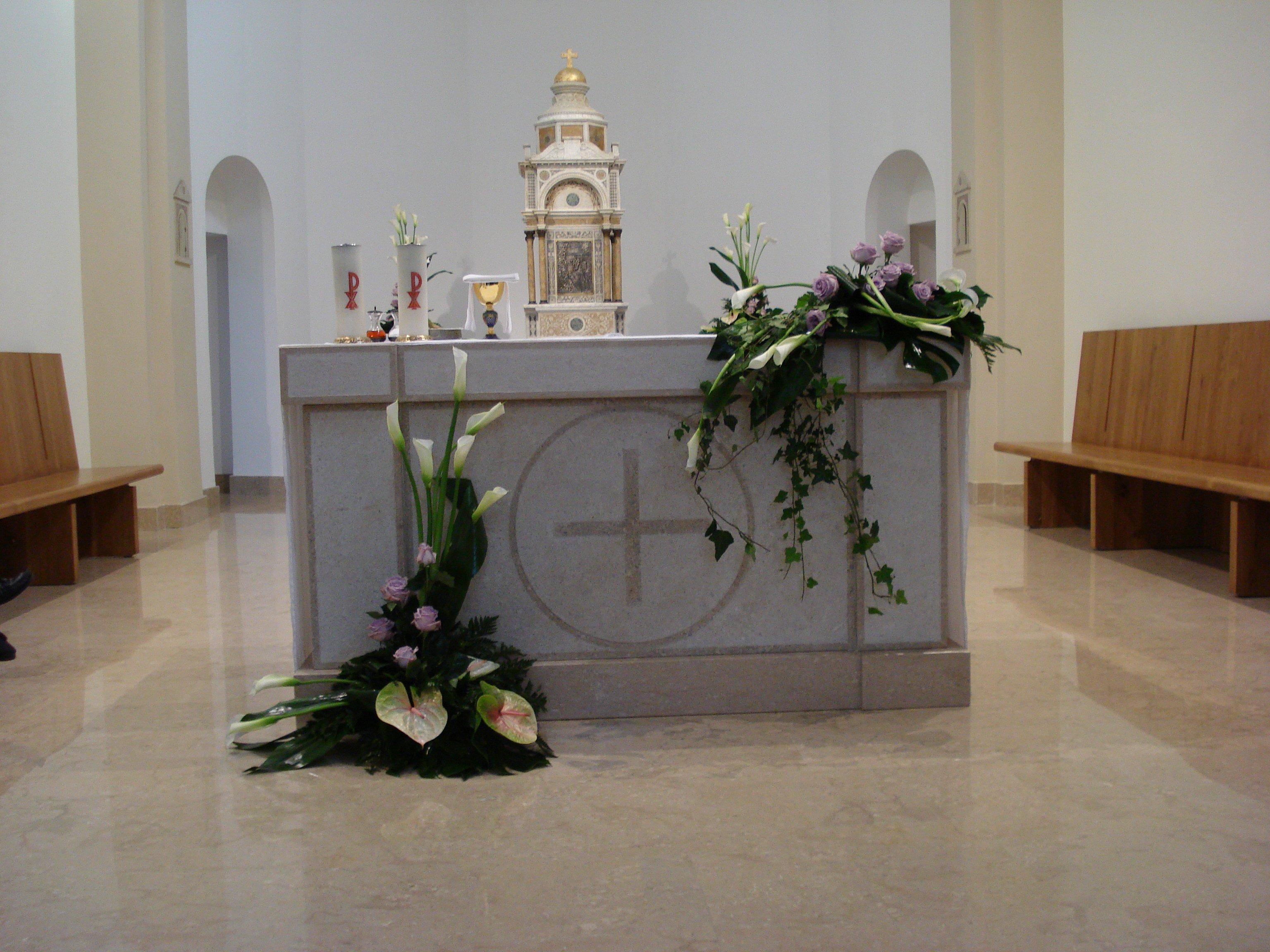 altare chiesa cazzago