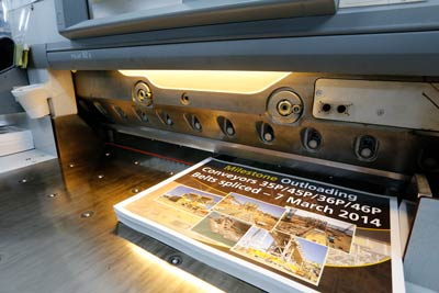 ads being printed