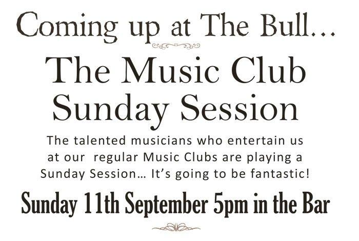 The Bull at Benenden - Sunday Music Session