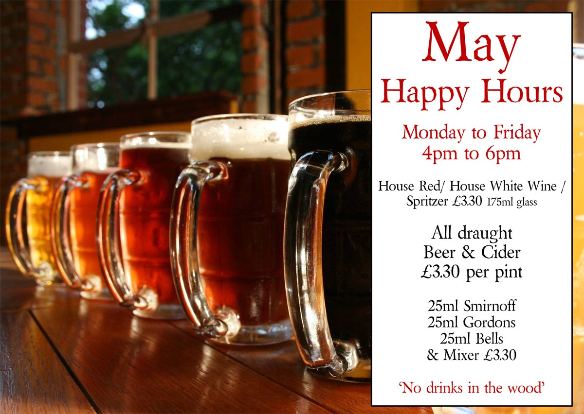 The Bull at Benenden - Happy Hour