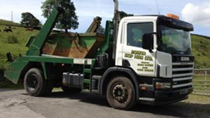 skip hire vehicle