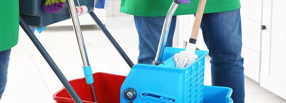 materiali per le pulizie