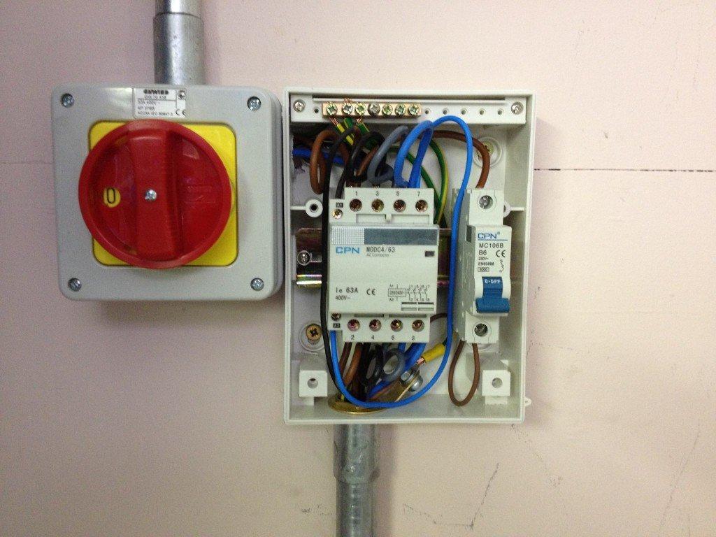 open fuse board