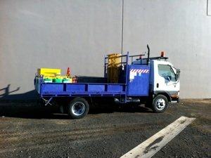 vermeer support truck