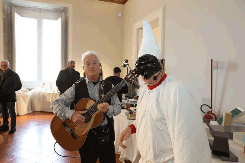 clienti durante un musica evento