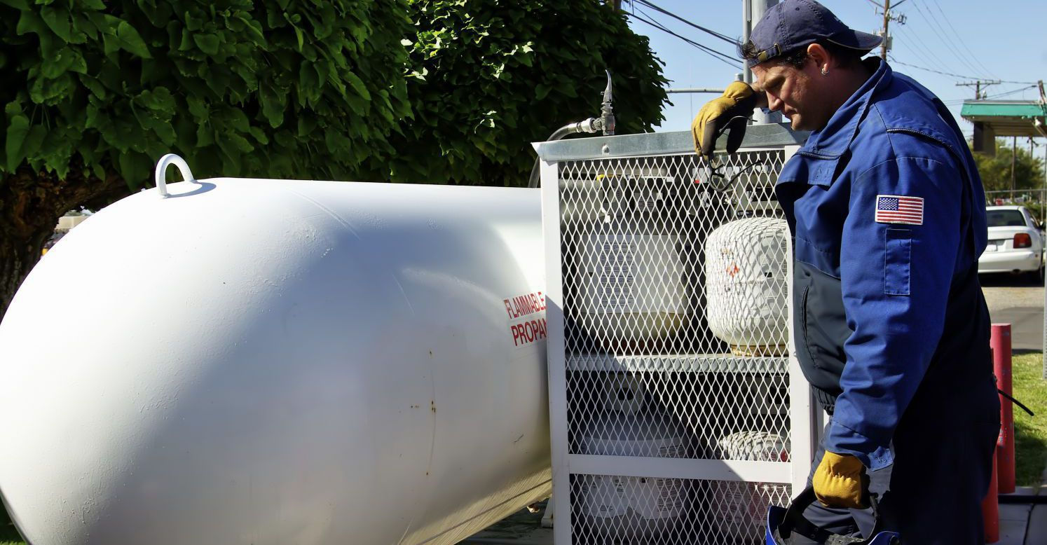 Expert installing propane gas in Chillicothe, OH