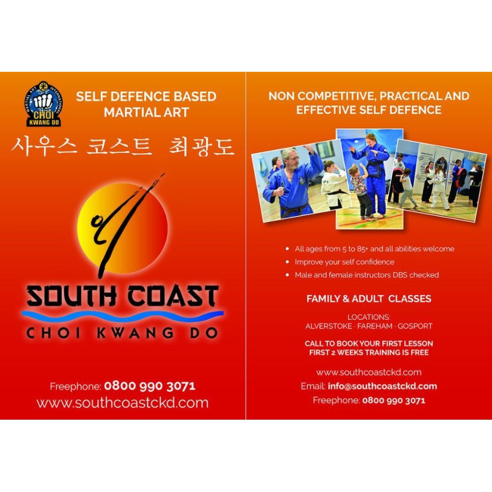 Flyer for South Coast Choi