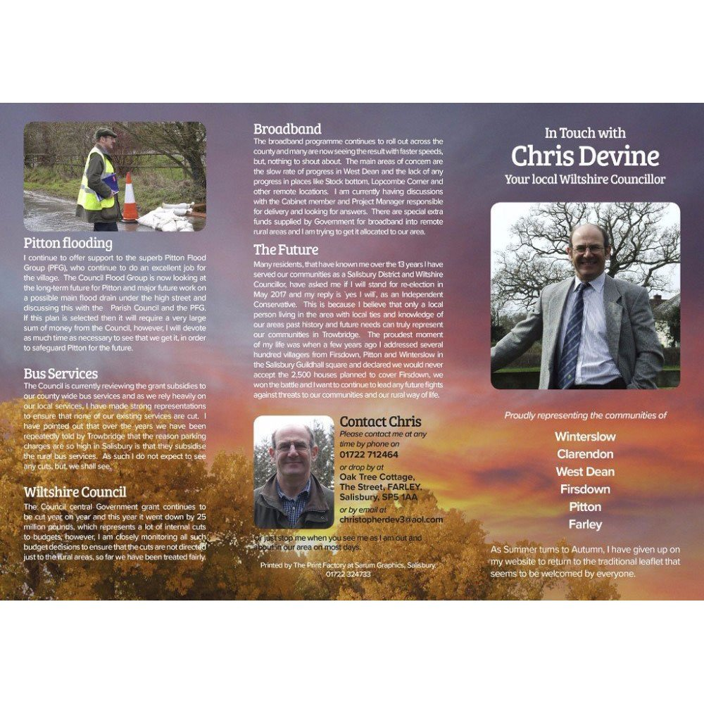 Design for Chris Devine