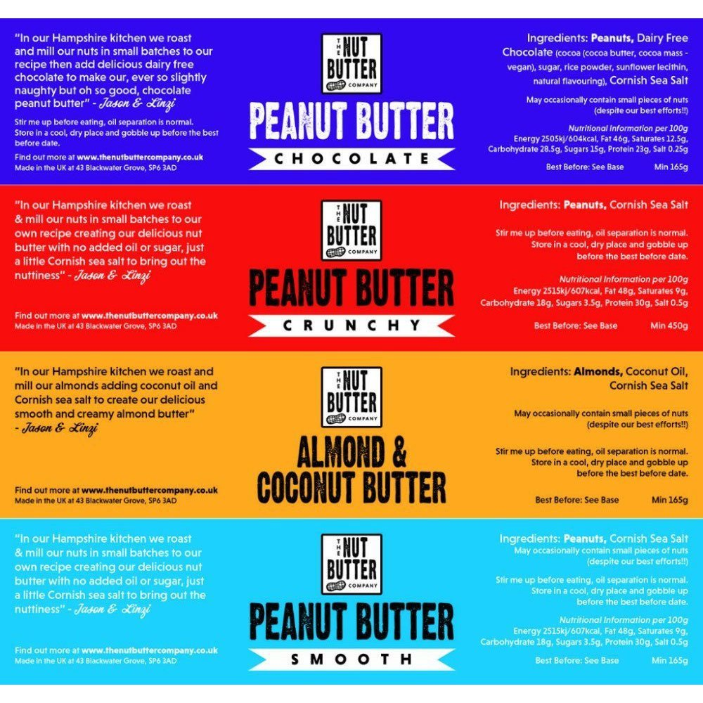 Flyer for Nut Butter Company