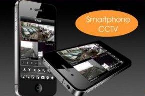 CCTV on a smart phone