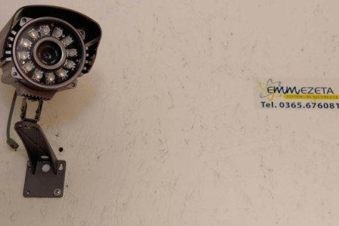 Collaudo telecamera di sorveglianza