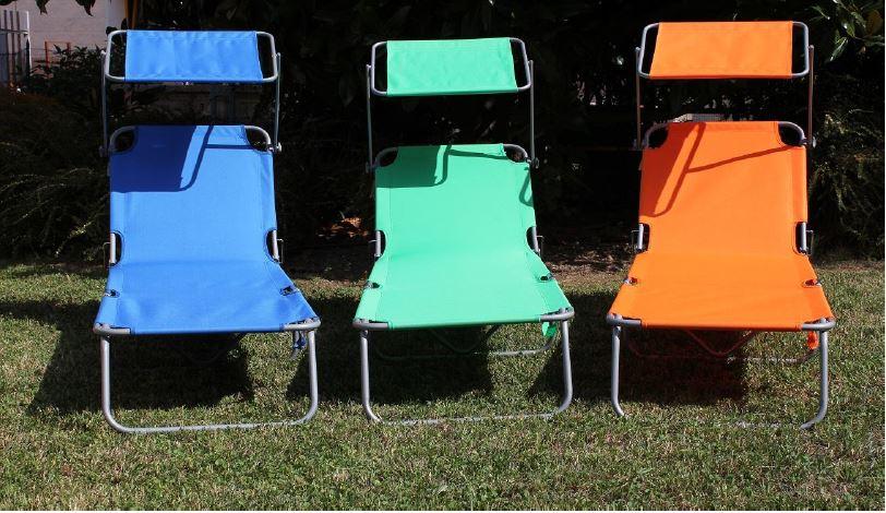 sedie a sdraio essepi camping a Stanghella, PD