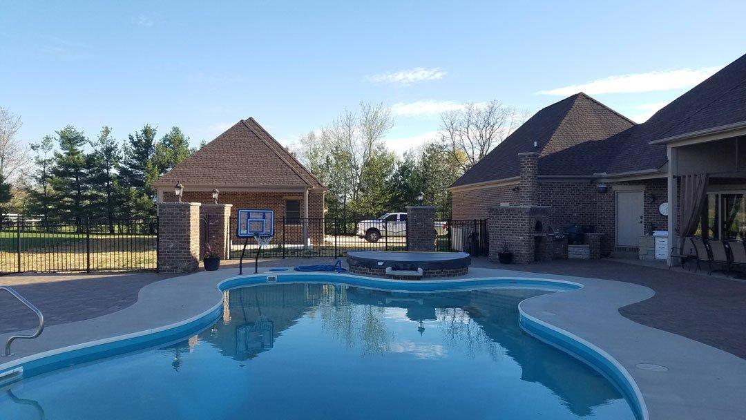 Vinyl In Ground Swimming Pools Omni Pools Columbus Ohio