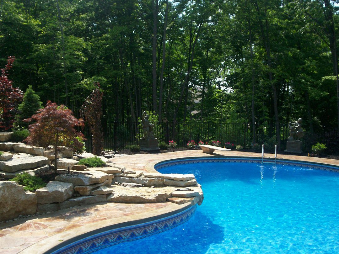 Vinyl In Ground Swimming Pools Omni Pools Columbus Ohio