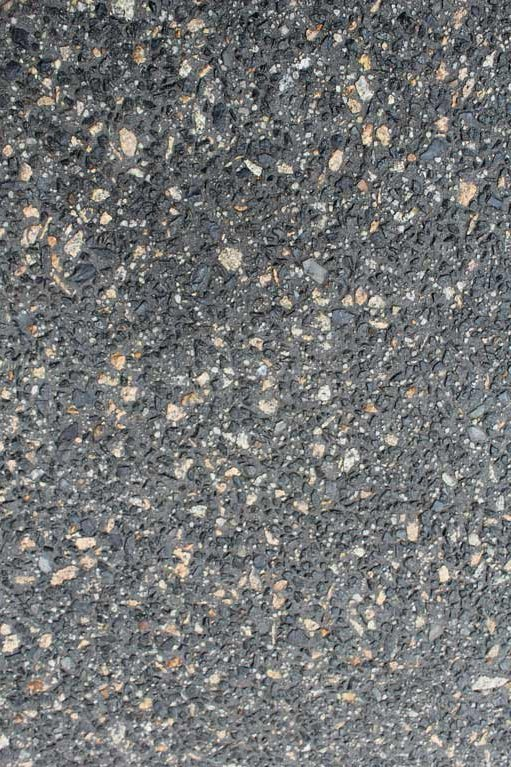 Exposed aggregate concrete on the Mornington Peninsula