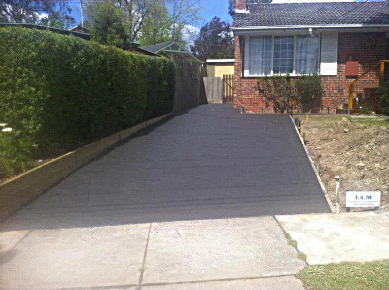 i s m concreting and constructions concrete driveway
