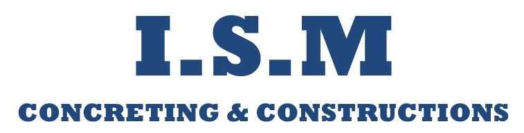 i s m concreting and constructions logo