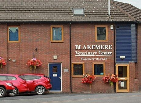Blakemere Veterinary centre exterior
