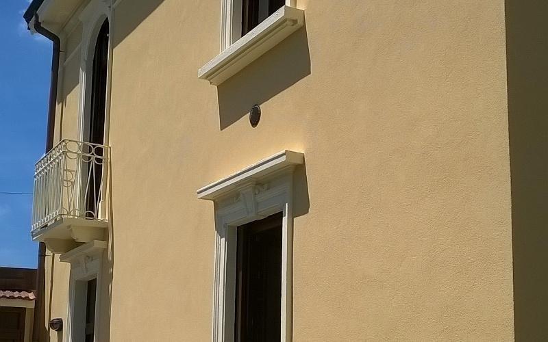 restauro facciata in silicato