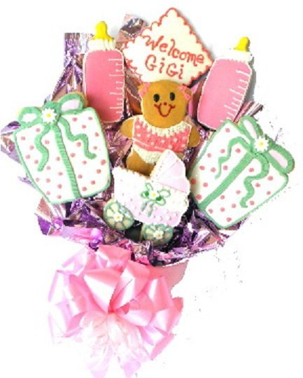 Miss Riley's Baby Cookie Bouquet Gift!