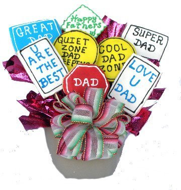 Father's Day Cookie Bouquet Gifts!